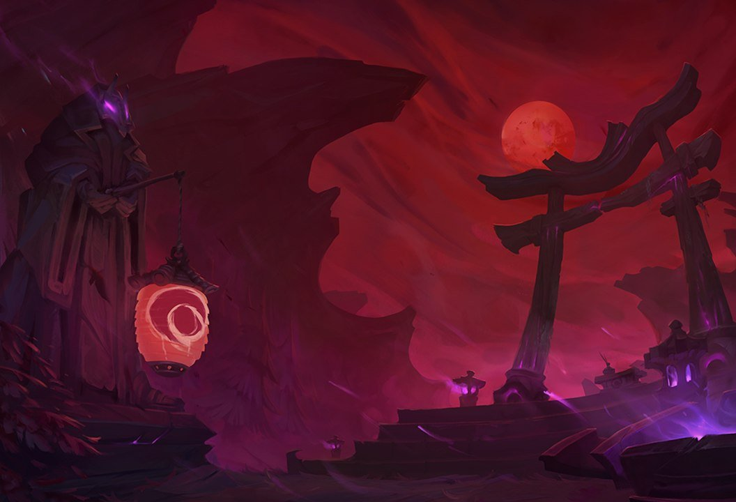 LoL Hunt of the Blood Moon