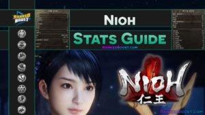 Nioh Stats