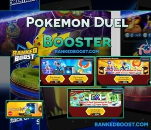 Pokemon Duel Booster Case