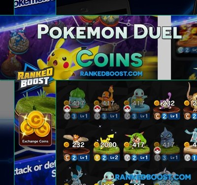 Pokemon Duel Coins
