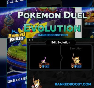Pokemon-Duel-Evolve