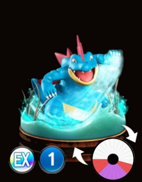 Pokemon Duel Feraligatr