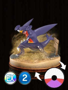 Pokemon Duel Garchomp