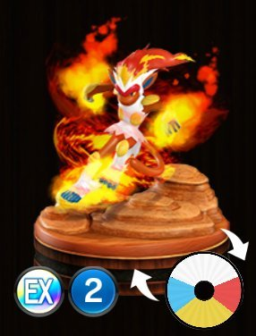 Pokemon Duel Infernape