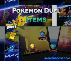 Pokemon Duel Items   Cubes   Ingots   Rare Metal