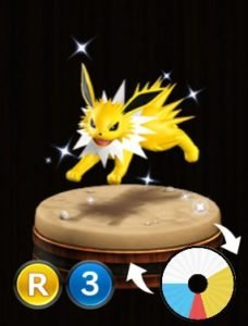 Pokemon Duel Jolteon