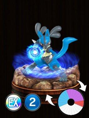 Pokemon Duel Lucario