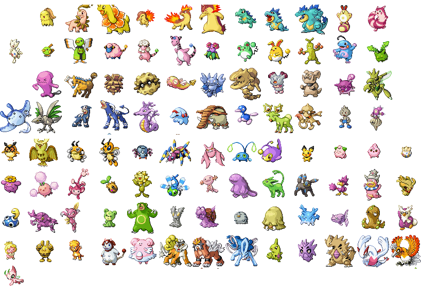 photograph regarding Printable Pokemon Checklist With Pictures titled Pokemon Move Vibrant Pokemon Listing of All Bright Pokemon and How
