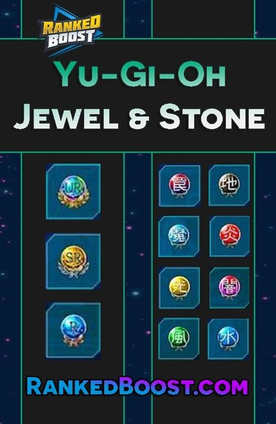 Yu Gi Oh Duel Links Jewel and Stone