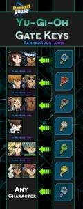 Yu Gi Oh Duel Links Gate Key