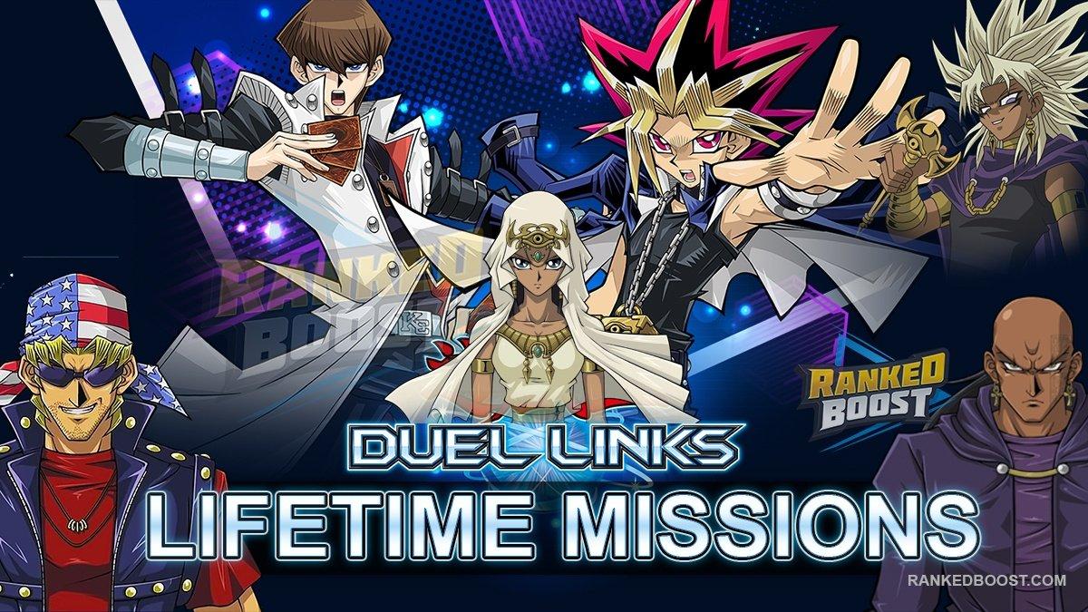 Yu Gi Oh Duel Links Lifetime Missions | List of Lifetime Mission Rewards