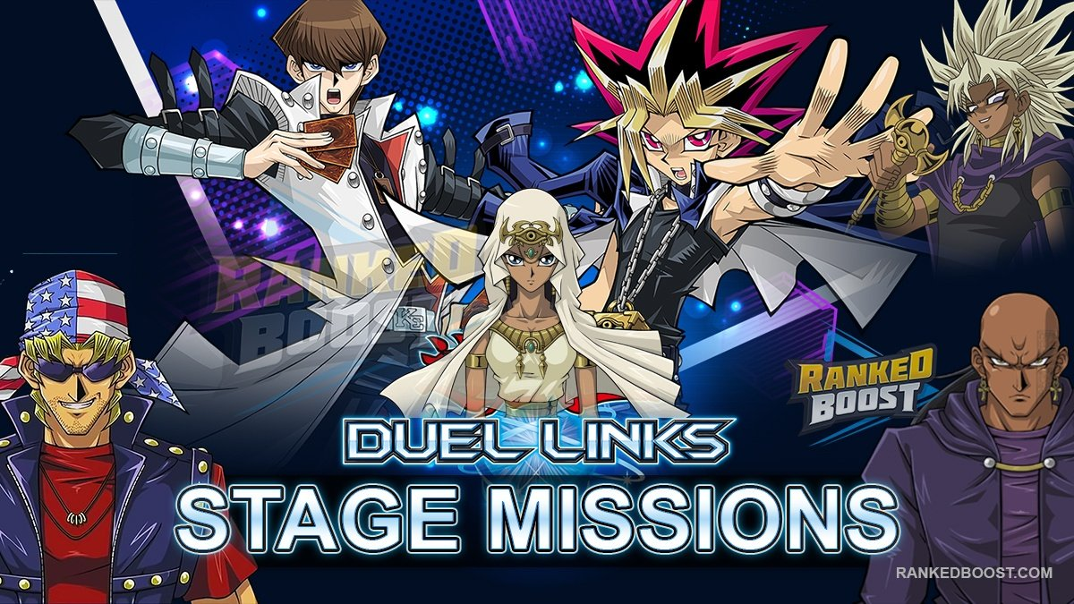 Yu Gi Oh Duel Links Stage Missions | List of Stage Mission