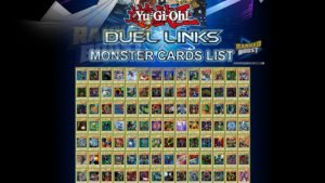 Yu Gi Oh Duel Links Monster Card List