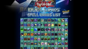 Yu Gi Oh Duel Links Spell Card List