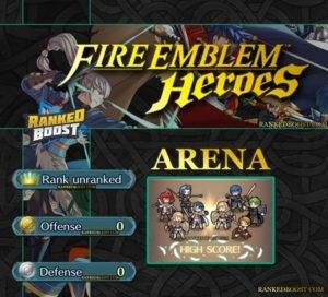 Fire Emblem Heroes Arena