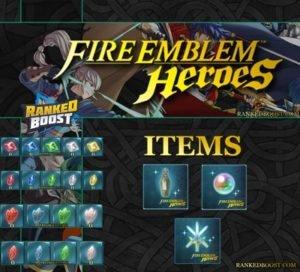 Fire Emblem Heroes Items | Badges | Shards | Crystals