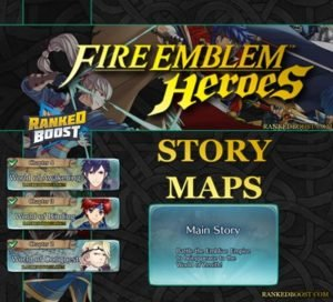 Fire Emblem Heroes Story Maps