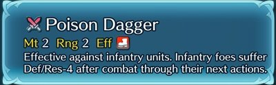 Fire Emblem Heroes Weapon Skills