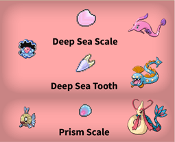 Gen 3 Evolutions items list