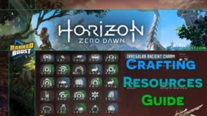 Horizon Zero Dawn Crafting Resources | Item Ingredients