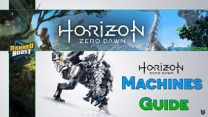 Horizon Zero Dawn Machines Guide