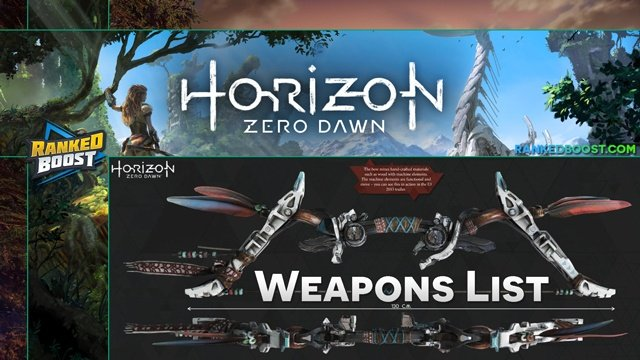 Horizon-Zero-Dawn-Weapons