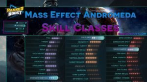 Mass Effect Andromeda Skill Classes and Ability Powers