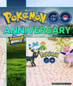 Pokemon GO Anniversary Event