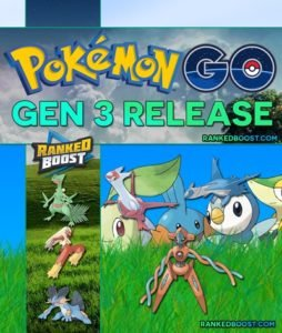 Pokemon Go Generation 3 Release