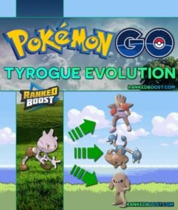 Pokemon GO Tyrogue Evolution
