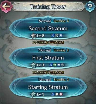 Training Tower Fire Emblem Heroes