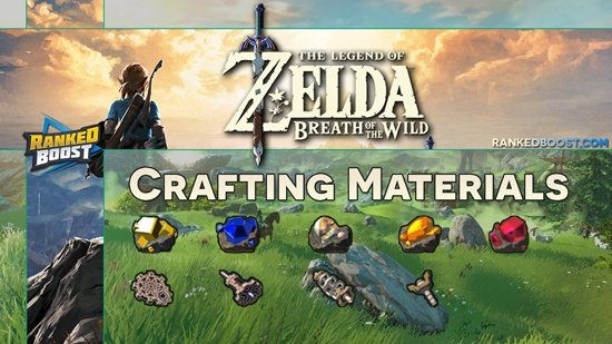 Zelda-Breath-of-the-Wild-Crafting-Materials