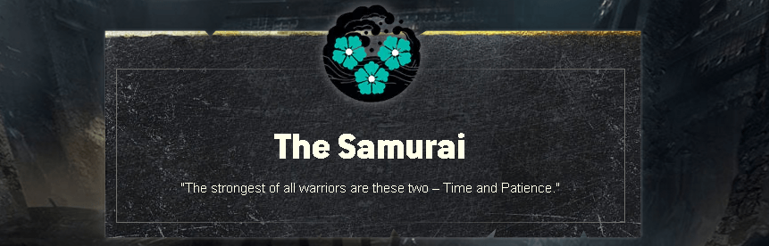 for honor samurai faction