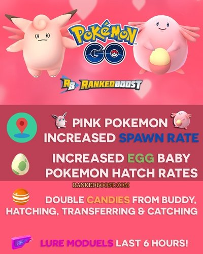Pokemon Go Valentine S Day Event Guide Increased Spawn Rates
