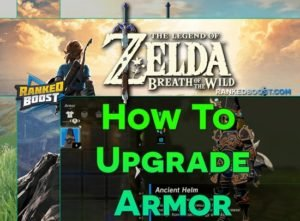 Zelda Breath of the Wild Armor List | Set Armor Upgrade Cost