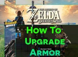 Zelda Breath of the Wild Armor List | Set Armor Upgrade Cost