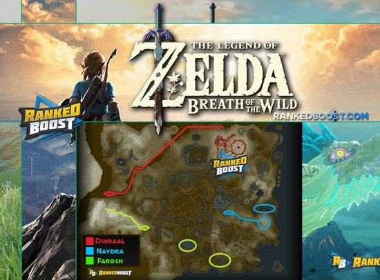 Dragons Zelda Breath of the Wild