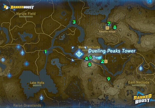 Dueling-Peaks-Shrine-Locations-zelda-breath-of-the-wild