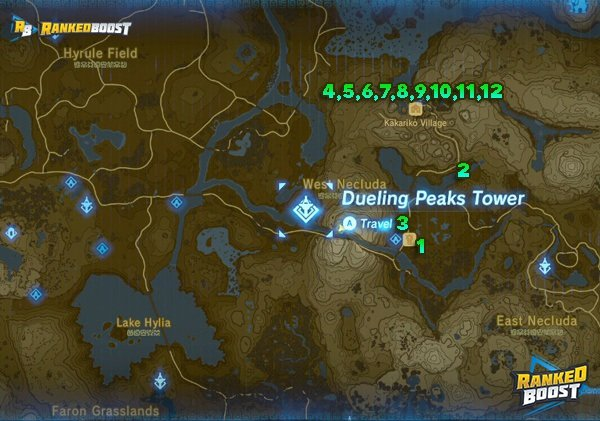 Zelda Breath Of The Wild Side Quests List Rewards From Side Quest