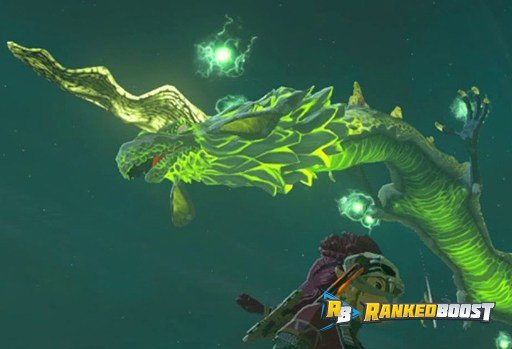 Farosh Zelda Breath of the Wild Dragon