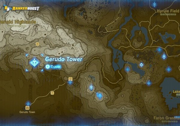 Gerudo-tower-zelda-breath-of-the-wild