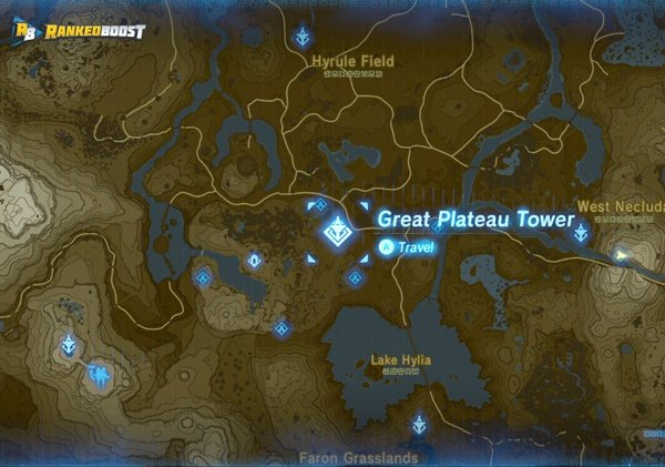 Great-plateau-tower-zelda-breath-of-the-wild