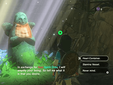 How To Use Spirit Orbs In Zelda Breath of the Wild
