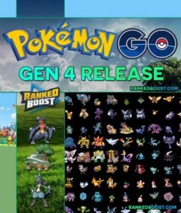 Pokemon Go Generation 4 Release