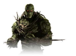 Injustice 2 Swamp Thing | Gear Build, Stats, Moves, Abilities & Skin Costumes