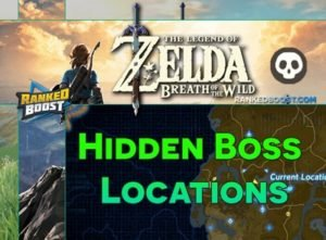 Zelda Breath of the Wild Boss Locations | Stone Talus, Hinox, Stalnox, Lynel, Molduga