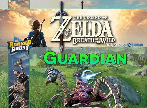 Zelda Breath of the Wild Guardian