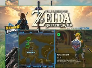 Zelda Breath of the Wild Hylian Shield