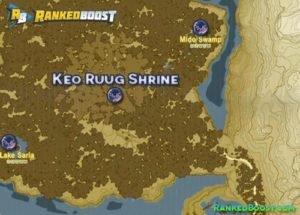 Zelda Breath of the Wild Keo Ruug Shrine Walkthrough Guide and Location