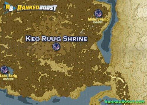 Zelda Breath of the Wild Keo-Ruug Shrine Location